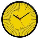 Zegar ścienny okrągły Liczydło #1 w sklepie internetowym funnyclock.eu