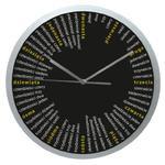 Zegar ścienny okrągły Liczydło #2 w sklepie internetowym funnyclock.eu