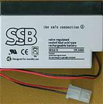 Akumulator SSB AGM 12V/0,8Ah w sklepie internetowym Akumulatory.tm.pl
