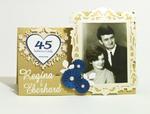 Kartka z okazji 45 rocznicy ślubu ze zdjęciem w sklepie internetowym Artillo