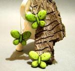Motyle, motylki.... zielone w sklepie internetowym Artillo