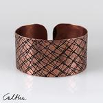 Miedziana bransoletka - skosy w sklepie internetowym Artillo