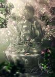 Obraz - Budda - płótno - orientalny w sklepie internetowym Artillo