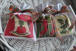 3 płócienne woreczki z lawendą - Boże Narodzenie w sklepie internetowym Artillo