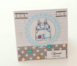 Kartka na chrzest lub z okazji narodzin (w pudełku) w sklepie internetowym Artillo