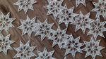 Szydełkowe gwiazdeczki, śnieżynki w sklepie internetowym Artillo