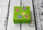 pudełko zielone kwiaty w sklepie internetowym Artillo