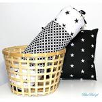 Poduszka wałek 50/15 cm black&white w sklepie internetowym Artillo