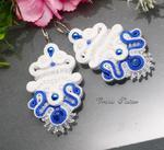 SUTASZ KOLCZYKI -ślubne -#432 w sklepie internetowym Artillo