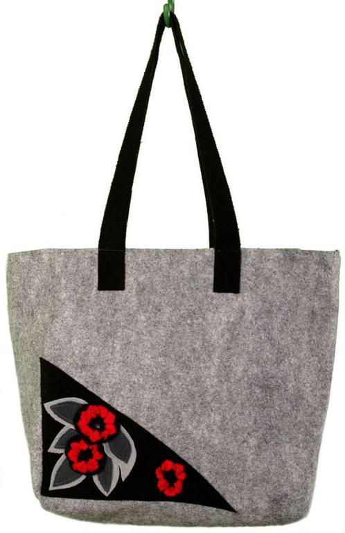 c091590fa806f SwS TOREBKI Bardzo duża torba szara w sklepie internetowym Artillo.  Powiększ zdjęcie