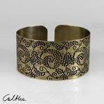 Mosiężna bransoleta - pnącza 171203-02 w sklepie internetowym Artillo
