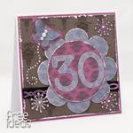 Na 30-tkę kartka urodzinowa KU1804 w sklepie internetowym Artillo