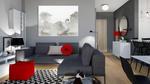 Obraz do salonu Łabędzie, 90 x 70, minimalizm w sklepie internetowym Artillo