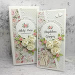 Romantyczna kartka na ślub w pudełku DL w sklepie internetowym Artillo