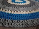 Bawełniany okrągły dywan 135 cm w sklepie internetowym Artillo