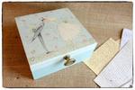 Pudełko na ślub ~Nowożeńcy~ Personalizacja w sklepie internetowym Artillo
