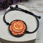 Bransoletka Svadhisthana - regulowana bransoletka czakry sakralnej w sklepie internetowym Artillo