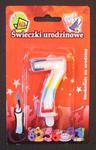 """Cyferka kolorowa TĘCZA """"7"""" w sklepie internetowym Superfajerwerki.com.pl"""