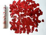 Konfetti wystrzałowe (czerwone serca) 30 cm - konfetti pneumatyczne w sklepie internetowym Superfajerwerki.com.pl