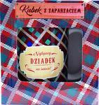 Kubek z zaparzaczem dla Dziadka Kubek z zaparzaczem Najlepszy dziadek na świecie w sklepie internetowym KwiatyUpominki.net