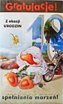 KARTKA OKOLICZNOŚCIOWA GRATULACJE Z OKAZJI URODZIN 18 KARTKA NA 18 URODZINY w sklepie internetowym KwiatyUpominki.net