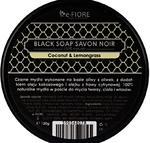 Czarne mydło Savon Noir z olejem kokosowym i trawą cytrynową naturalne czarne mydło z olejem kokosowym i trawą cytrynową w sklepie internetowym KwiatyUpominki.net