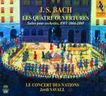 J. S. Bach: Les Quatre Ouvertures - Suites Pour Orchestre Bwv 1066 - 1069 w sklepie internetowym Gigant.pl