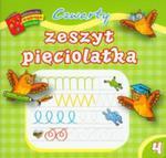 Czwarty Zeszyt Pięciolatka. Biblioteczka Mądrego Dziecka w sklepie internetowym Gigant.pl