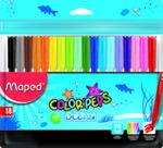 Flamastry Colorpeps Ocean 18 Kolorów Maped w sklepie internetowym Gigant.pl