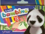 Kredki Bambino Świecowe 18 Kolorów w sklepie internetowym Gigant.pl