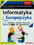 Informatyka Europejczyka 6 Zeszyt Ćwiczeń Edycja Windows 7 Windows Vista Linux Ubuntu Mc Office 2007 Openoffice. Org w sklepie internetowym Gigant.pl