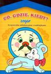 Co Gdzie Kiedy Zegar Książeczka Edukacyjna Z Naklejkami w sklepie internetowym Gigant.pl