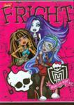 Zeszyt Monster High W Linie 32 Strony A5 Fright w sklepie internetowym Gigant.pl