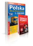 Polska Atlas Samochodowy Dla Profesjonalistów 1:200 000 + Pierwsza Pomoc 2016/2017 w sklepie internetowym Gigant.pl