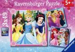 Puzzle Disney Księżniczki 3x49 w sklepie internetowym Gigant.pl