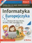 Informatyka Europejczyka 4 Podręcznik Z Płytą Cd w sklepie internetowym Gigant.pl