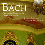 C. P. E. Bach: Recorder Concertos And Chamber Music w sklepie internetowym Gigant.pl