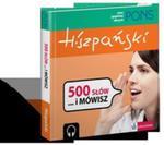 Pons 500 Słów... I Mówisz Hiszpański + Cd w sklepie internetowym Gigant.pl