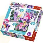 Puzzle 3w1 My Little Pony Magia Przyjaźni w sklepie internetowym Gigant.pl