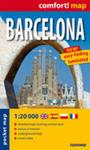 Barcelona - Laminowany Plan Miasta 1:20 000 w sklepie internetowym Gigant.pl