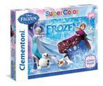 Puzzle Zamrożony Z Brokatem Frozen Z Brokatem 104 w sklepie internetowym Gigant.pl