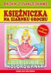 Księżniczka Na Ziarnku Grochu Bajka Z Naklejkami w sklepie internetowym Gigant.pl
