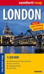 London Laminowany Plan Miasta 1:20 000 - Mapa Kieszonkowa w sklepie internetowym Gigant.pl