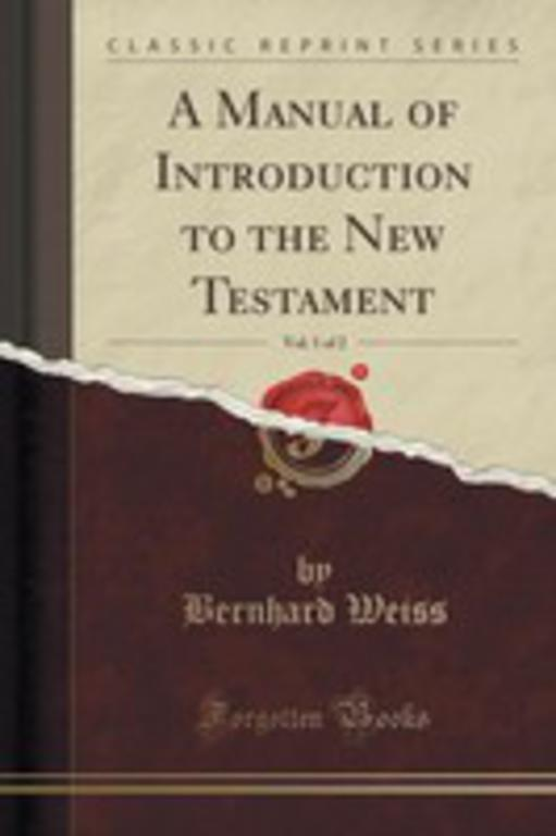 an analysis of a book on the new testament