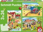 Puzzle Schmidt 3x24 Praca Na Wsi w sklepie internetowym Gigant.pl