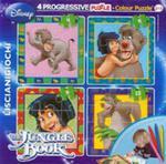 Puzzle Baby 4 Księga Dżungli + Flamastry w sklepie internetowym Gigant.pl