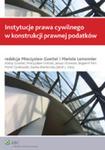 Instytucje Prawa Cywilnego W Konstrukcji Prawnej Podatków w sklepie internetowym Gigant.pl