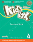 Kid's Box Level 4 Teacher's Book British English w sklepie internetowym Gigant.pl
