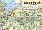 Mapa Polski Junior Mapa Ścienna w sklepie internetowym Gigant.pl