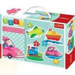 Puzzle Baby Classic - Pojazdy Trefl w sklepie internetowym Gigant.pl